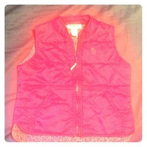 Deep pink OSHKOSH girls VEST